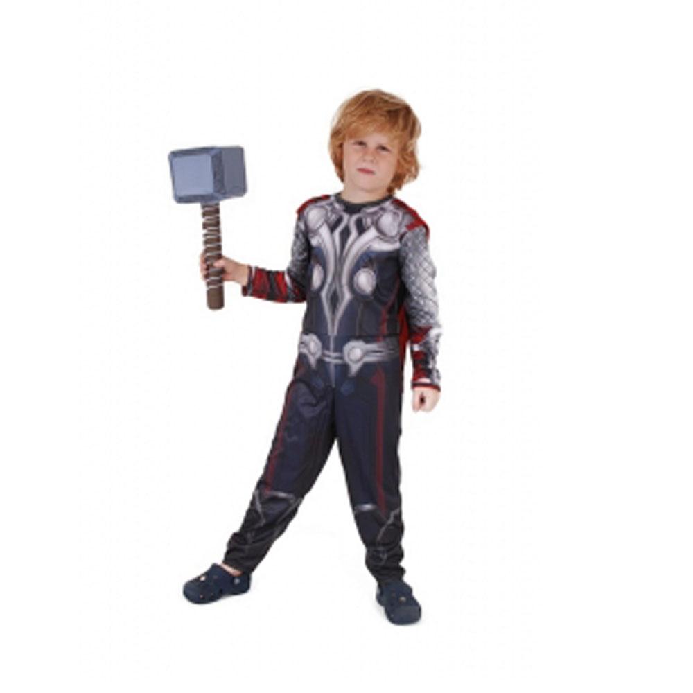 Fantasia Thor Os Vingadores Longo - Infantil