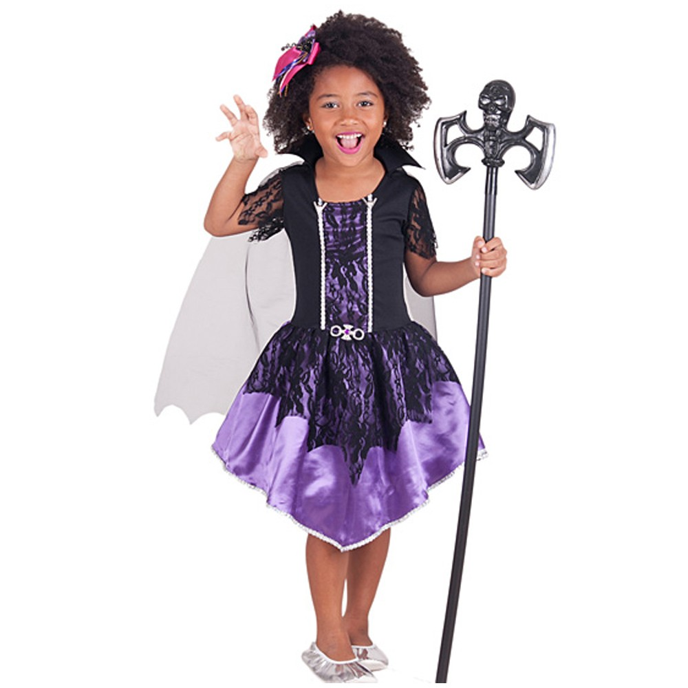 Fantasia Vampira Valdy Infantil