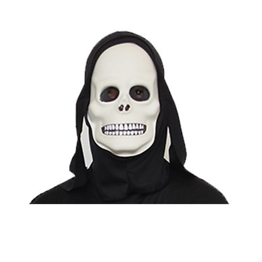 Máscara Caveira Com Capuz de EVA