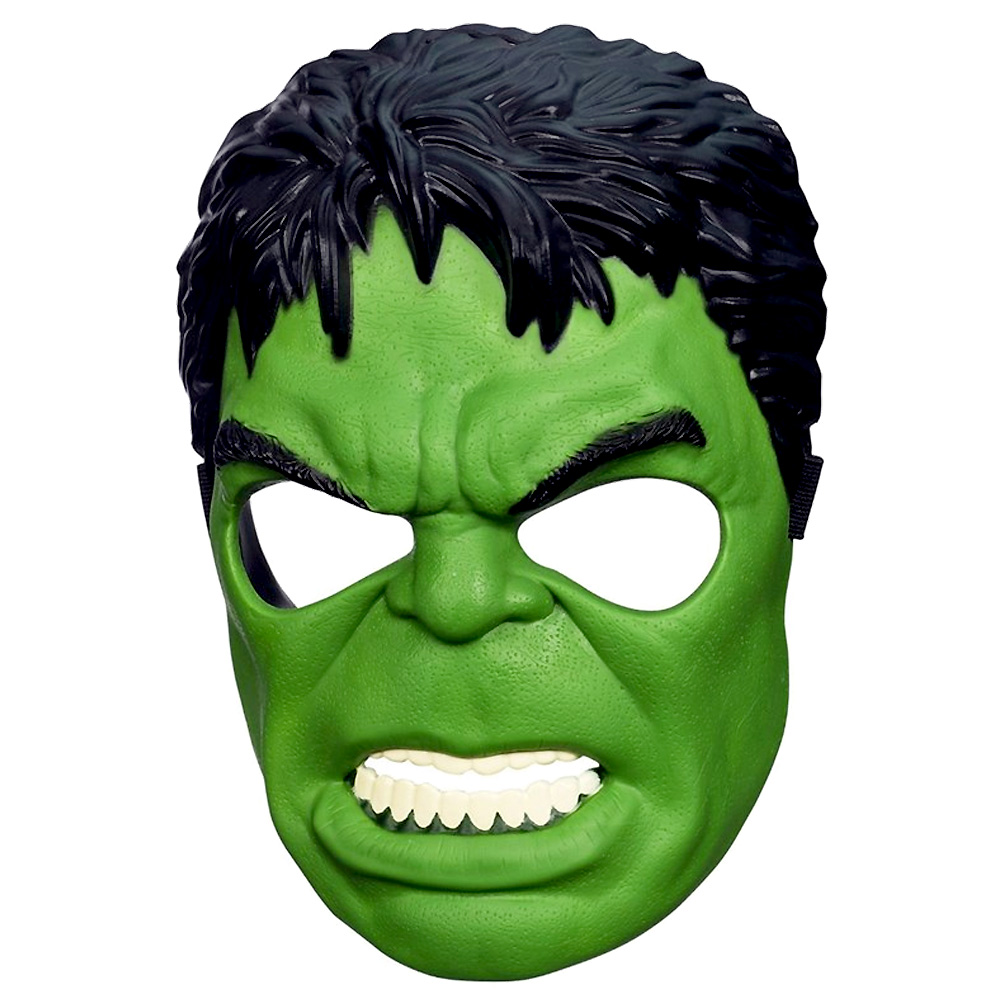 Máscara do Hulk Avengers Marvel - Infantil