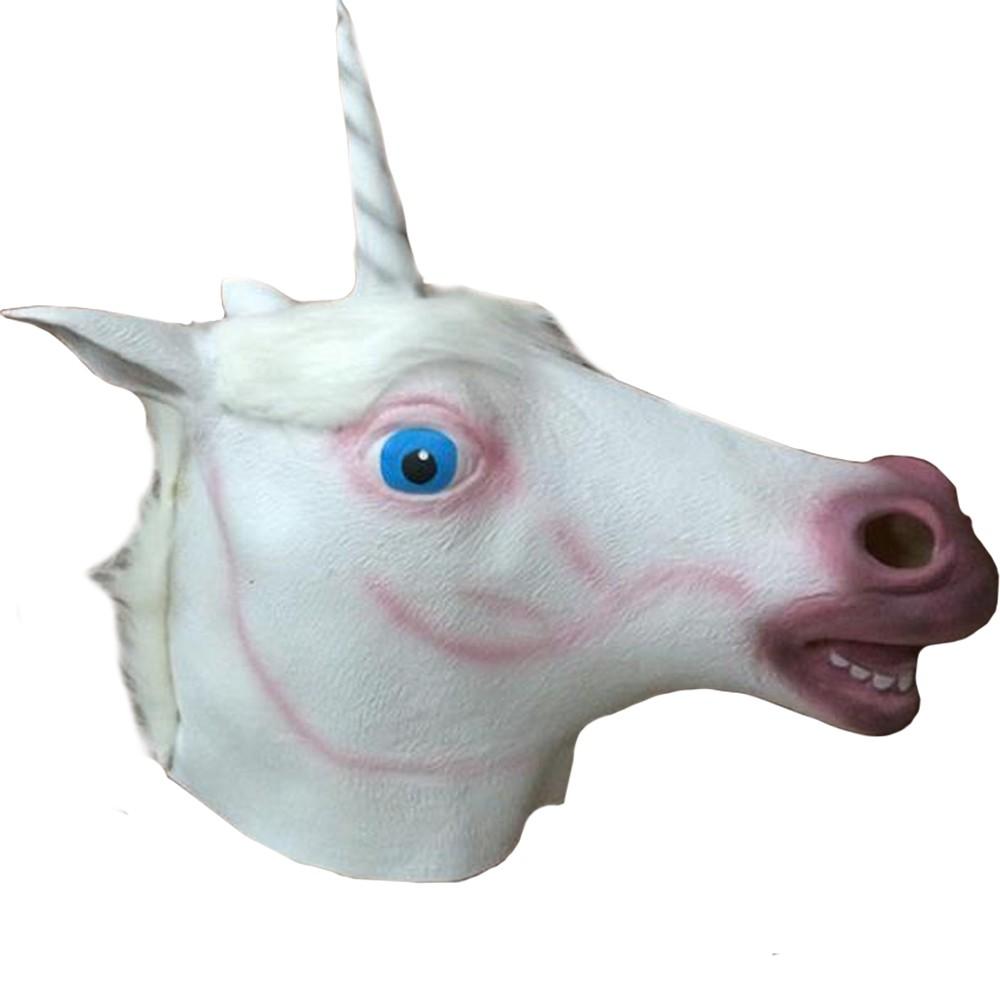 Máscara Unicórnio Látex