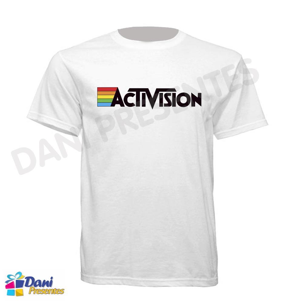 Camiseta ActiVision - 100% Algodão