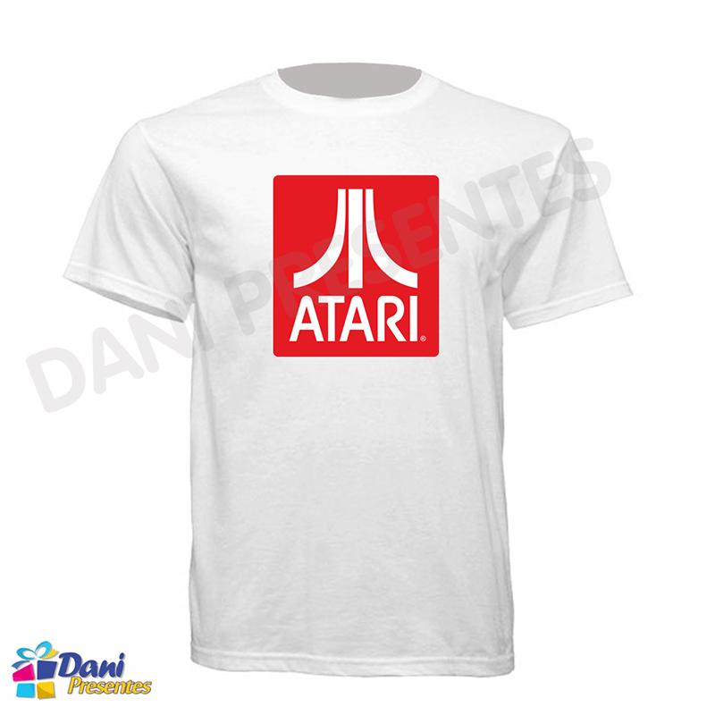Camiseta Atari - 100% Algodão