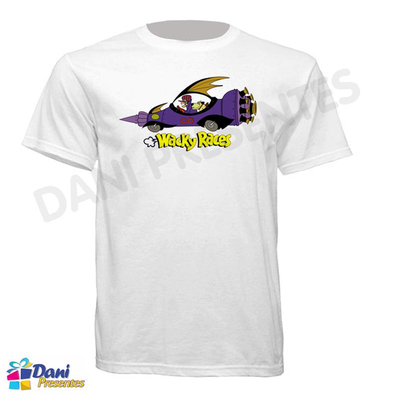 Camiseta Dick Vigarista - Corrida Maluca - Muttley - Hanna Barbera