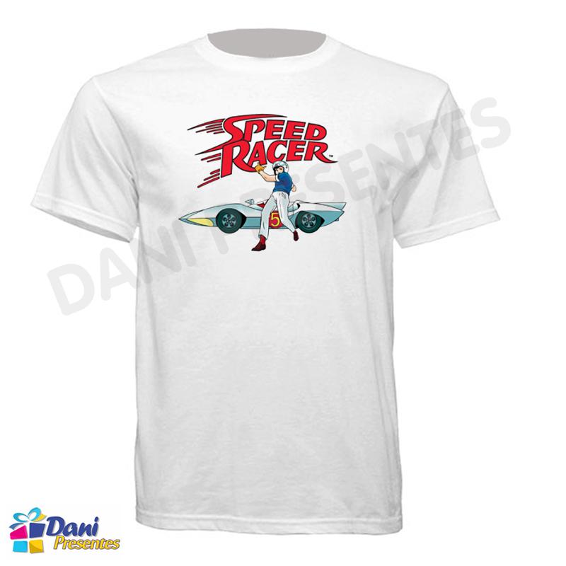 Camiseta Speed Racer - 100% Algodão