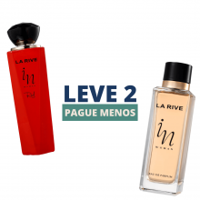 KIT Leve 2 Pague Menos - In Woman 90ml e In Woman Red 100ml