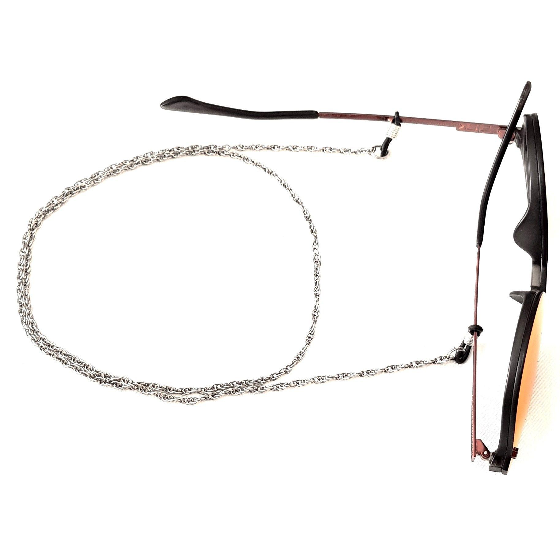 Cordão Empório Top Para Óculos Corrente Cor Prata