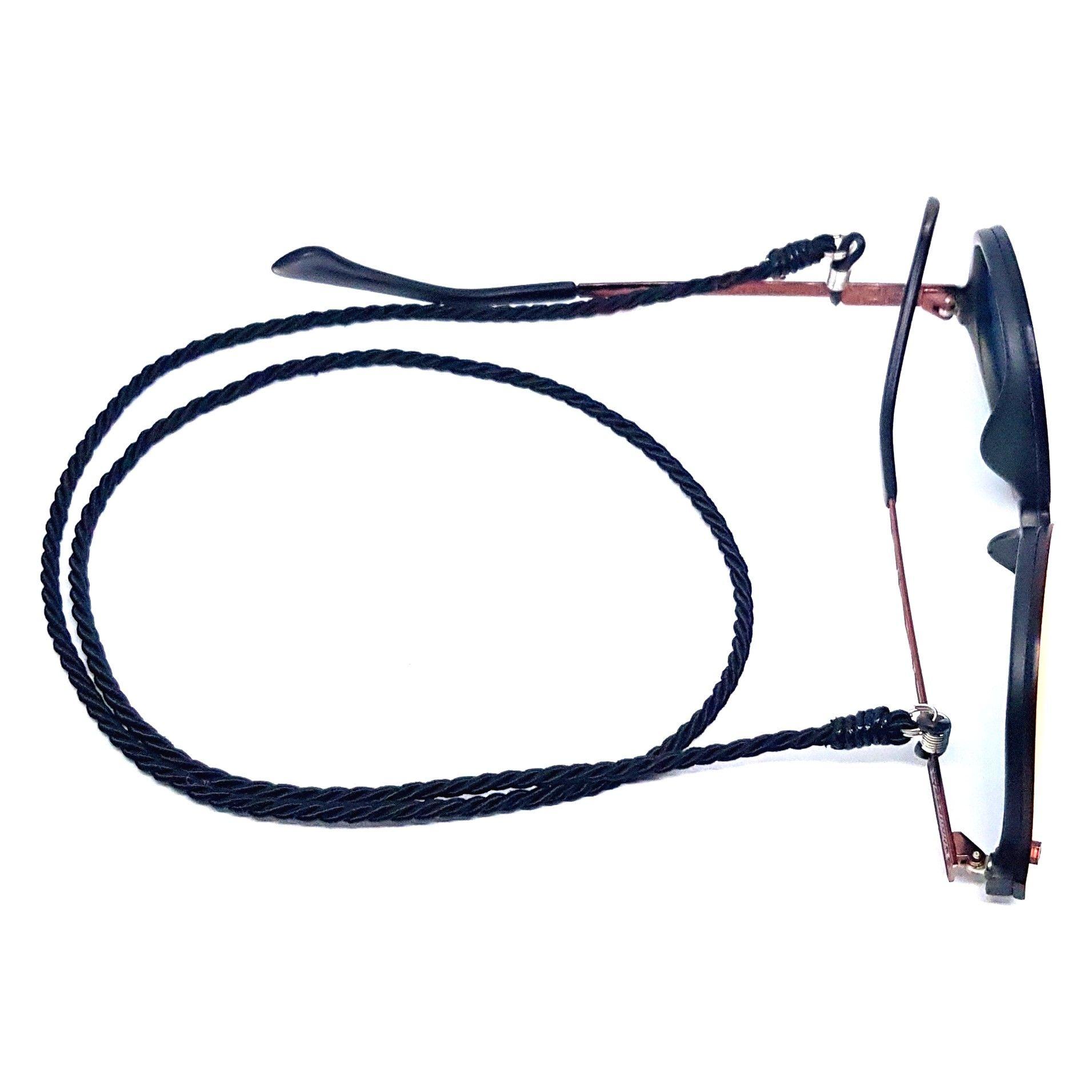 Cordão Empório Top Para Óculos Torneado Preto