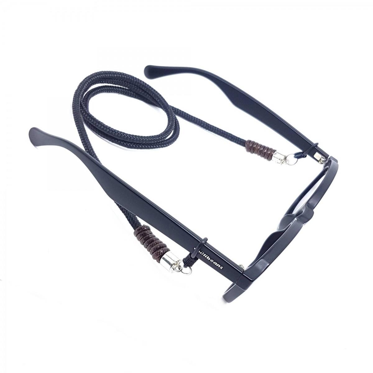 Cordão Para Óculos Preto