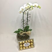 Ferrero Rocher e Phalaenópsis Luxo