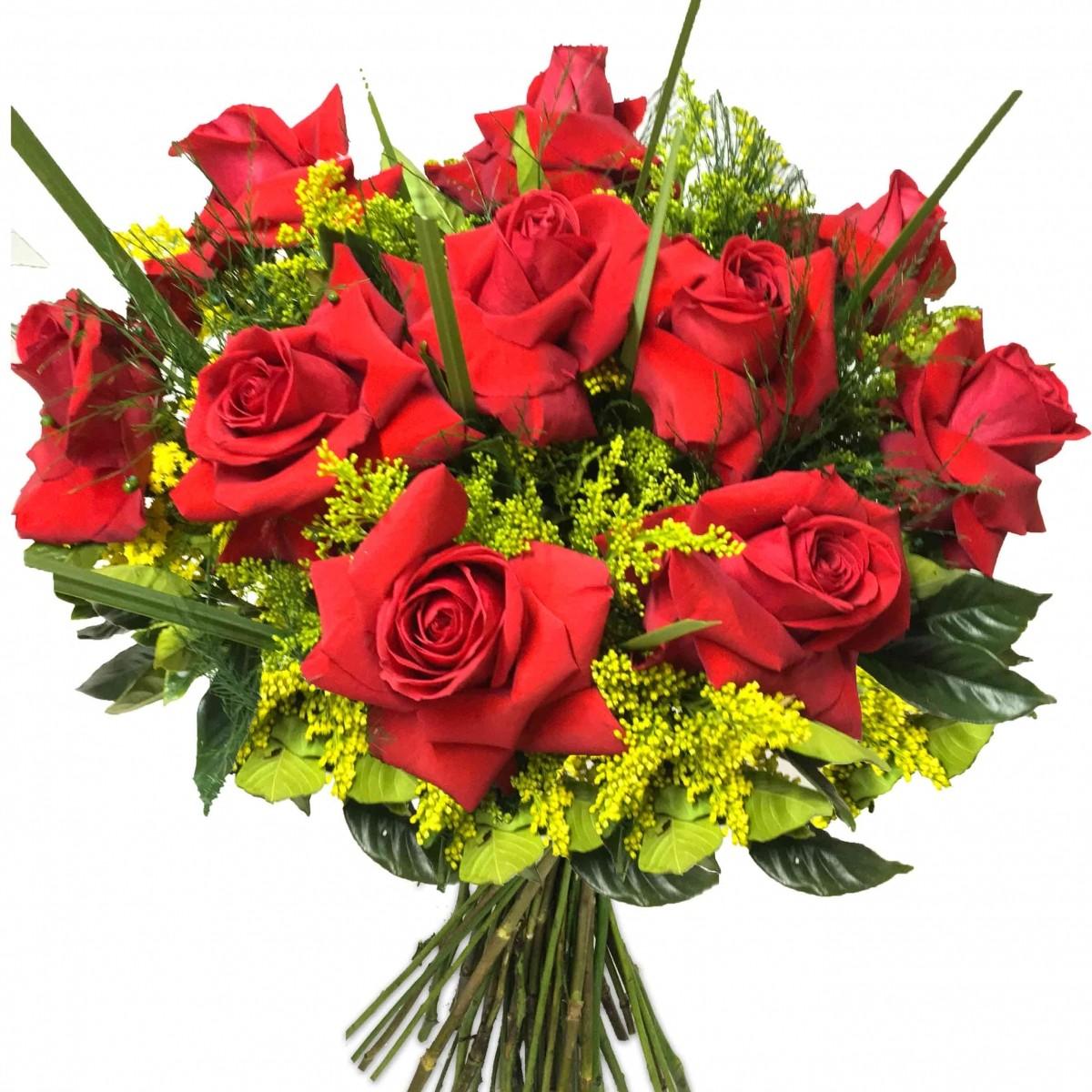 Buquê de 10 Rosas Colombianas