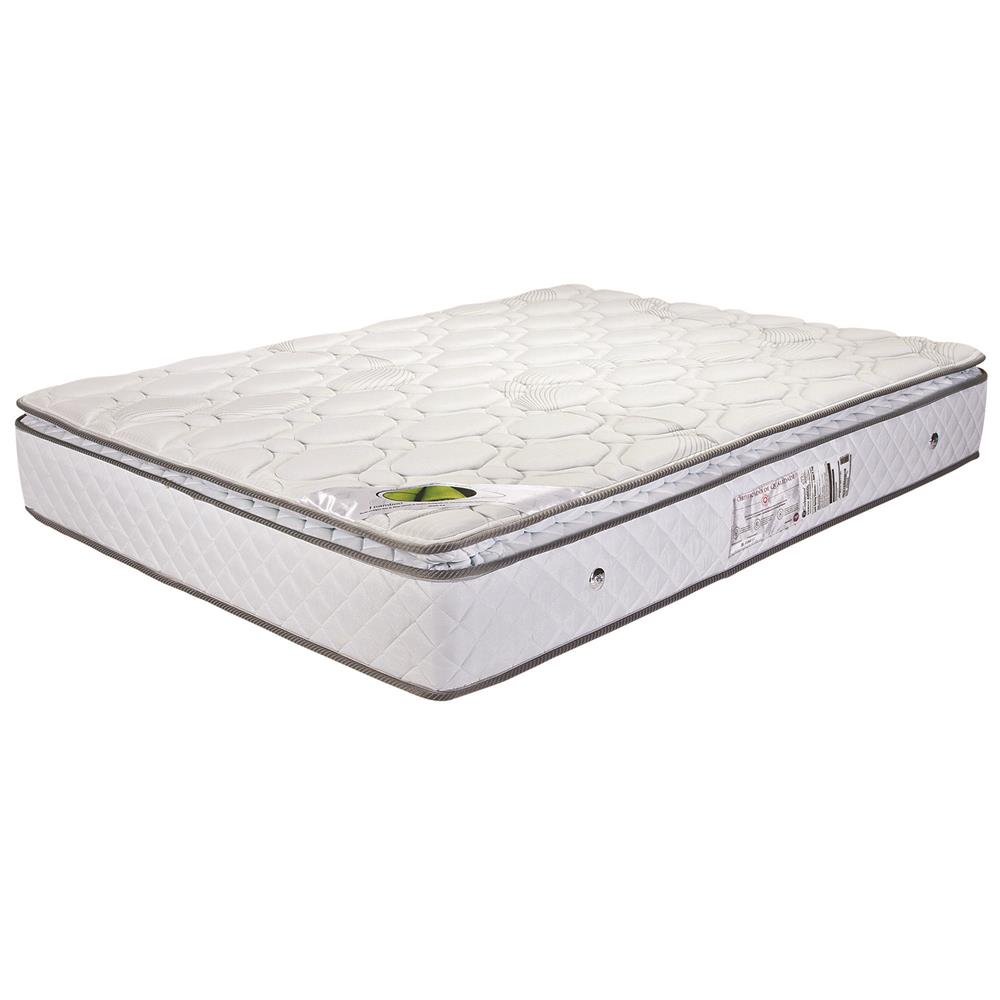 Colchão Casal Mola Bonnel com Pillow-Top
