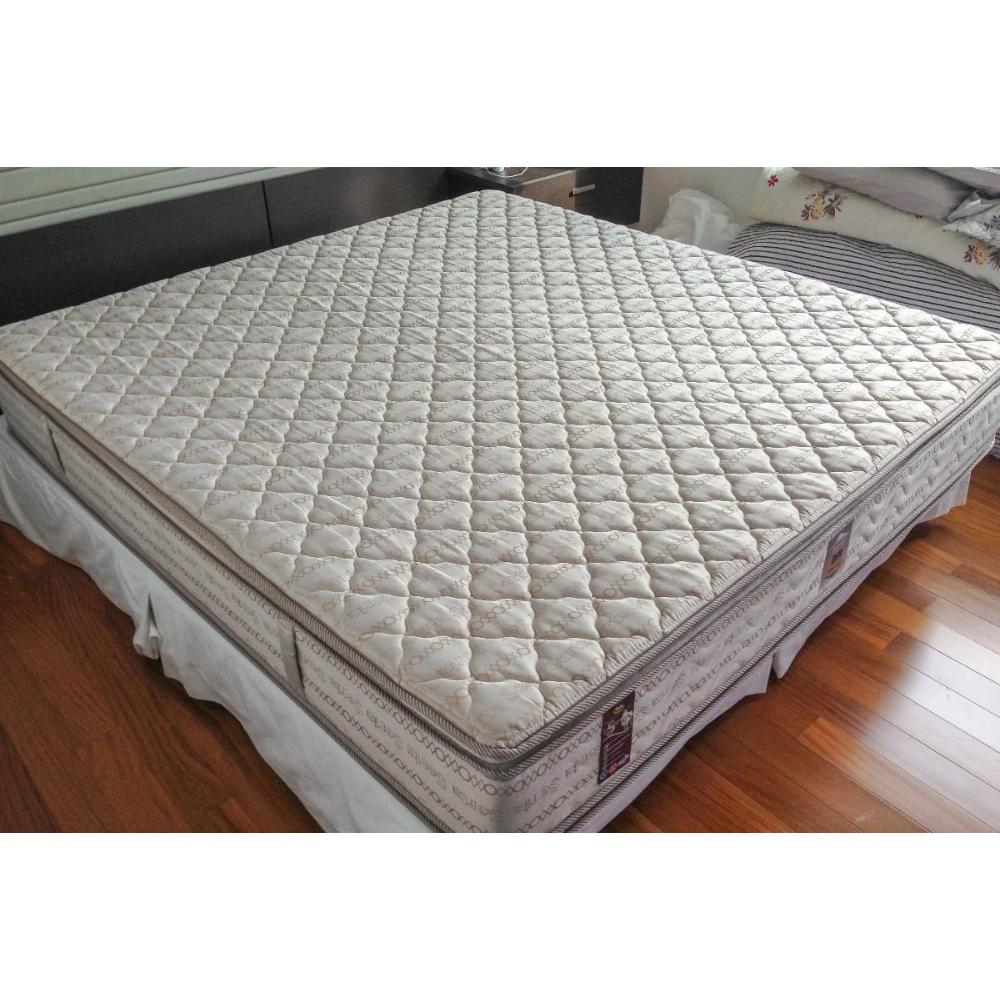 Colchão King Size Mola Bonnel com Pillow-Top