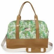 Bolsa Grande Weekend Bag Petite Jolie Natur/Estampa PJ2266