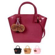 Bolsa Shape bag com Pompom Petite Jolie PJ3046