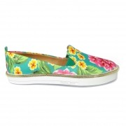 Tênis Slip On Floral Petite Jolie PJ1546