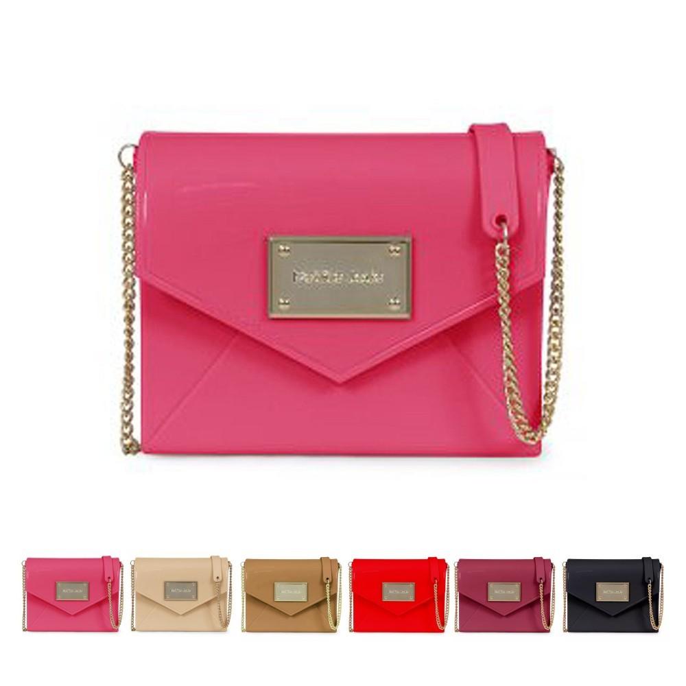 Bolsa Flap Bag Placa Petite Jolie PJ2843