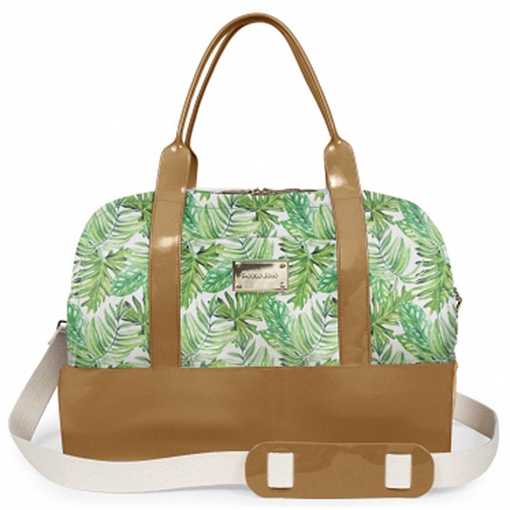 Bolsa Grande Weekend Bag Petite Jolie Natur/Estampa PJ2266