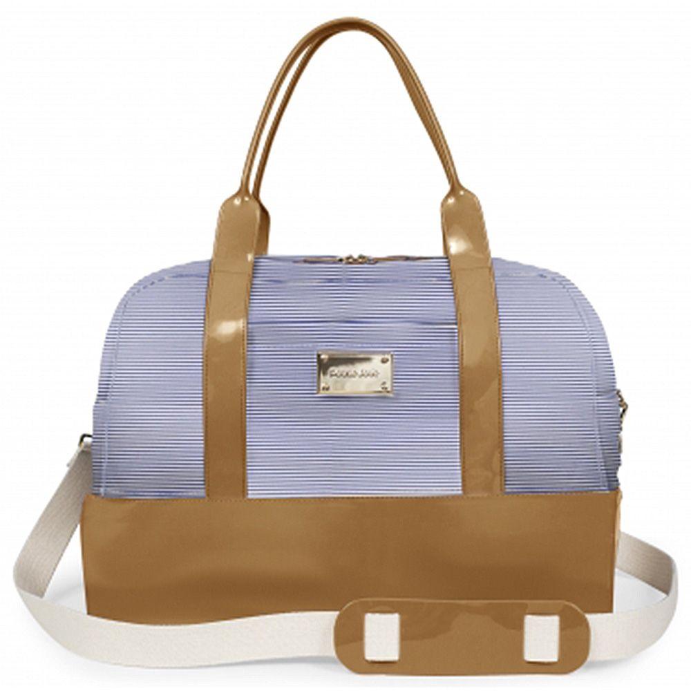 Bolsa Grande Weekend Bag Petite Jolie Natur/Listra PJ2266