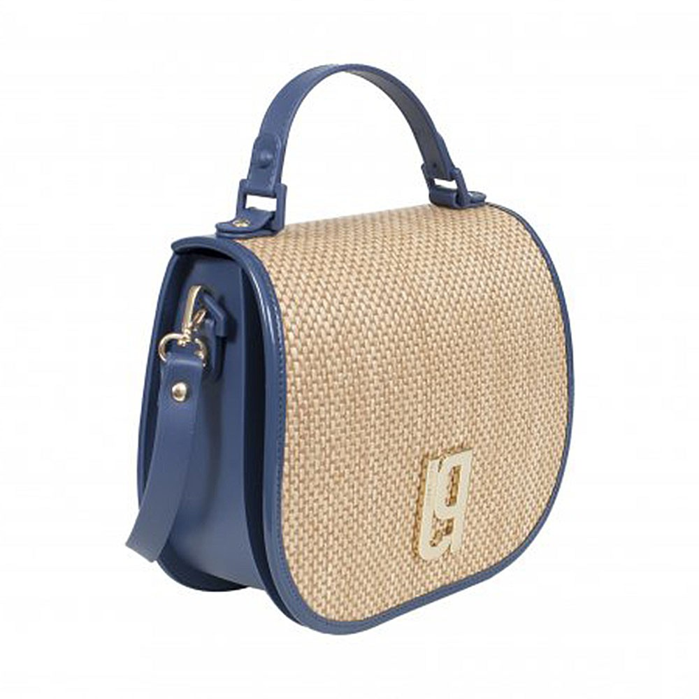 Bolsa Saddle Bag Detalhe Palha Petite Jolie PJ2720