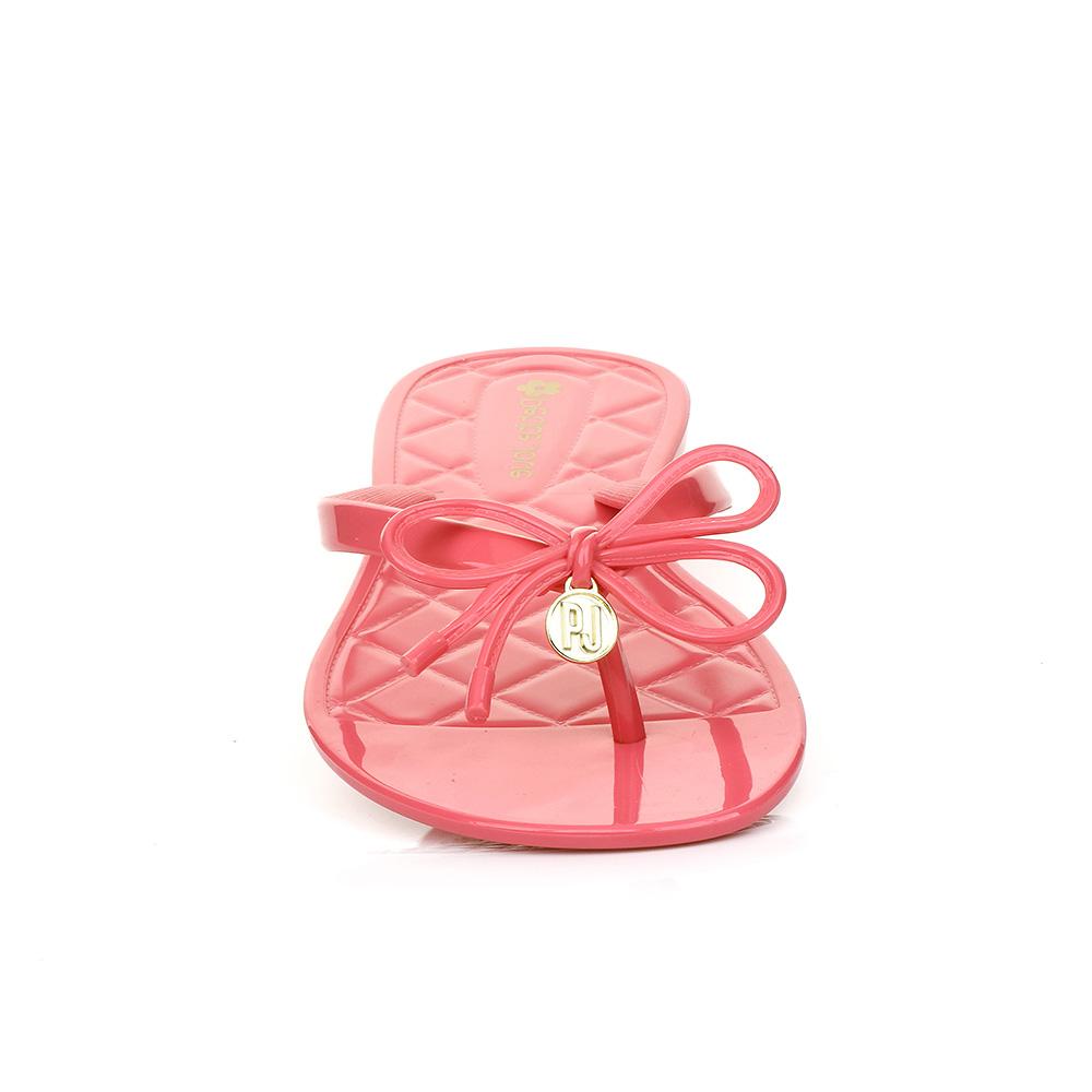 Rasteira de Laço Pink Petite Jolie PJ2272