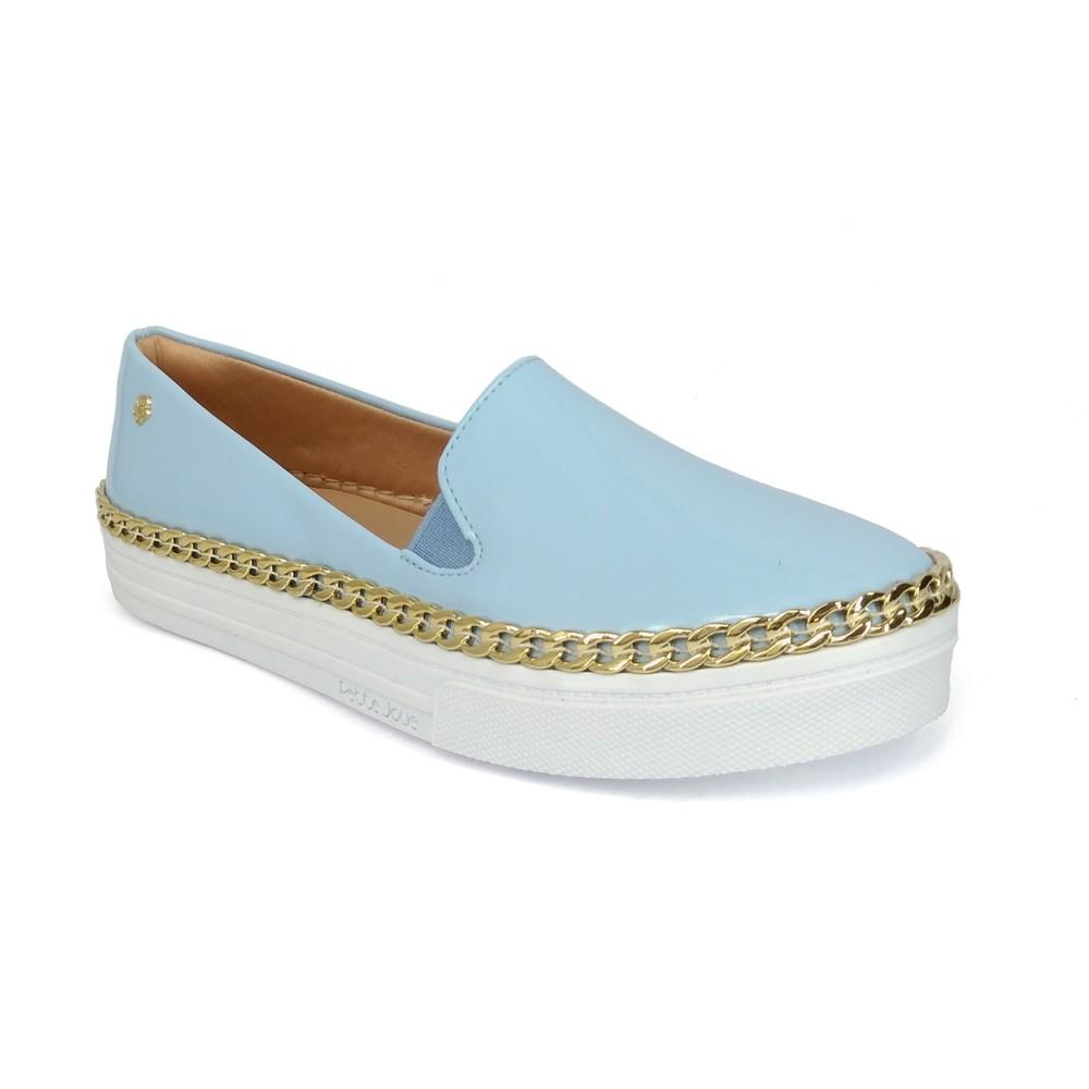 Tênis Slip On Azul Petite Jolie PJ2308