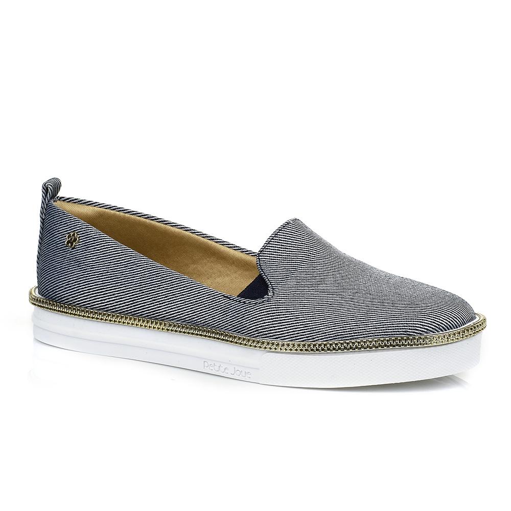 Tênis Slip On Jeans Petite Jolie PJ1546