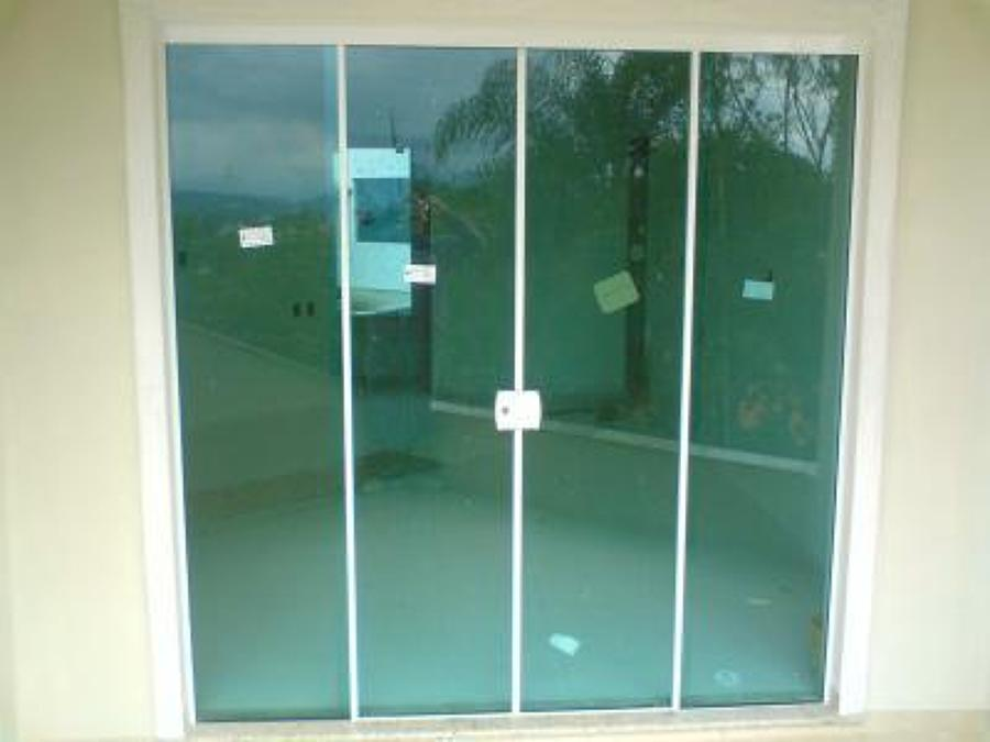 Porta de vidro temperado 8mm incolor 4 folhas instala o for Porta 4 folhas de vidro temperado