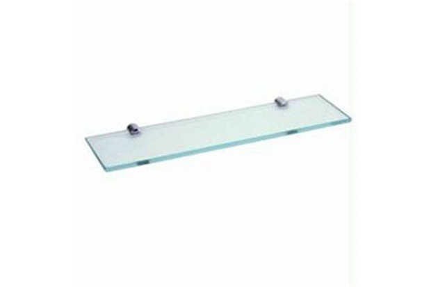 Estante De Vidro Temperado : Prateleira de vidro mm incolor cm competidora