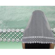 Véu CCB de Algodão 90% Renda de Guipure LA-126474