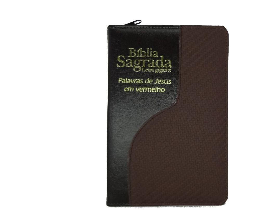 Biblia CCB Letra Gigante com Ziper