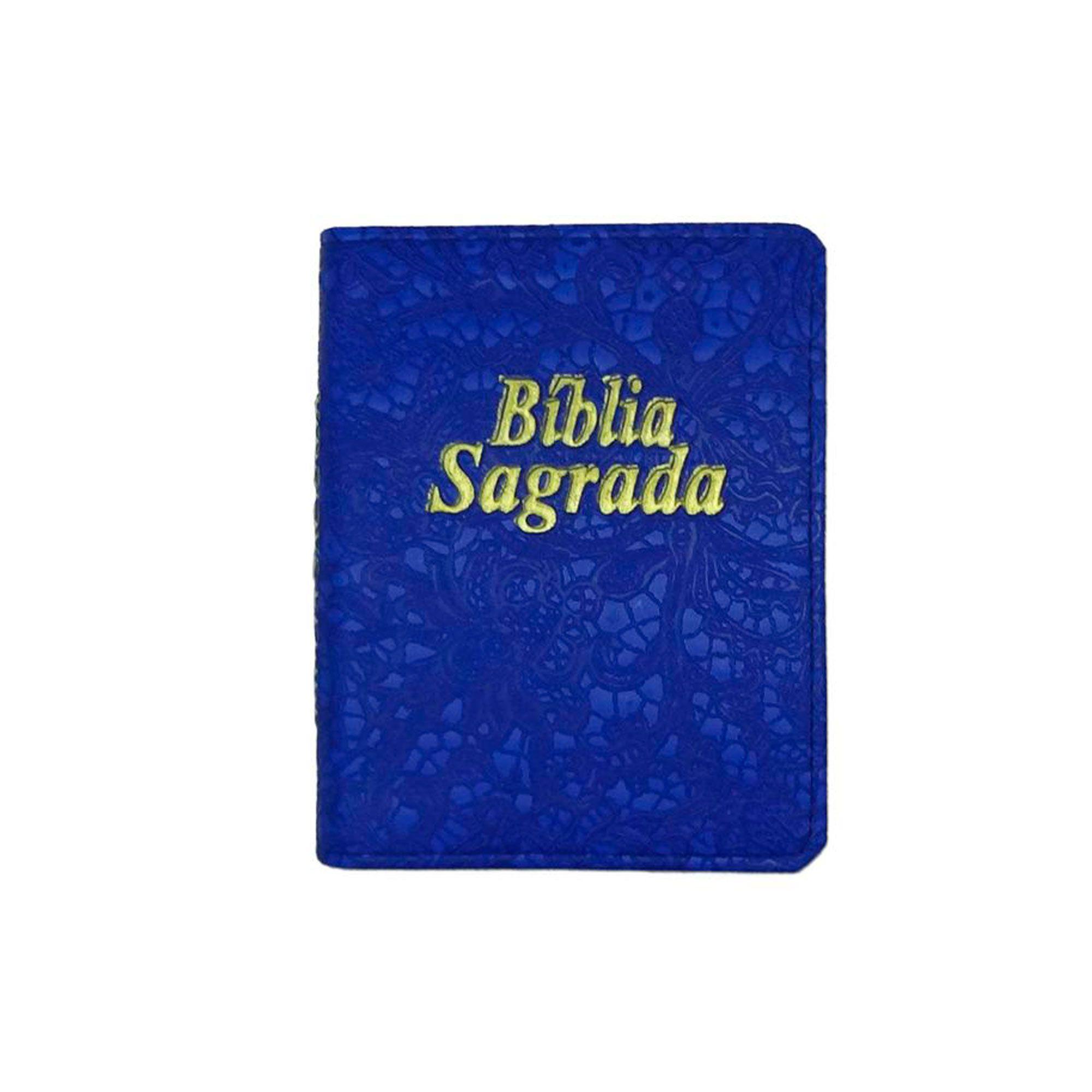 Bíblia CCB Pequena Luxo Colorida