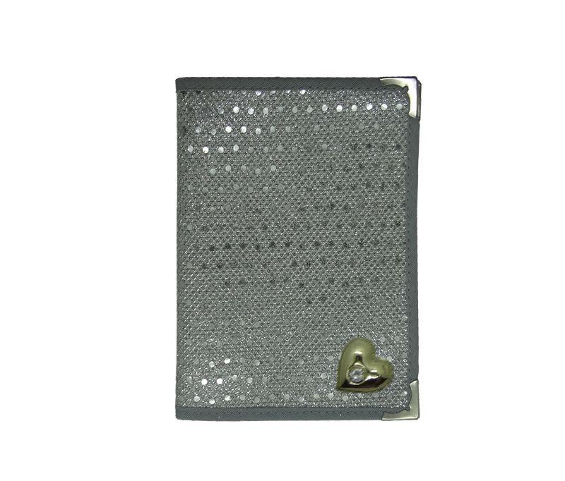 Capa Hinario Mole Prata Glitter