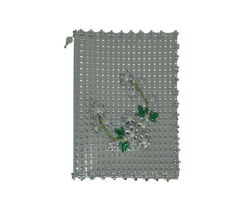 Capa para Bíblia com Hinário Pequeno Quadriculado com Flor
