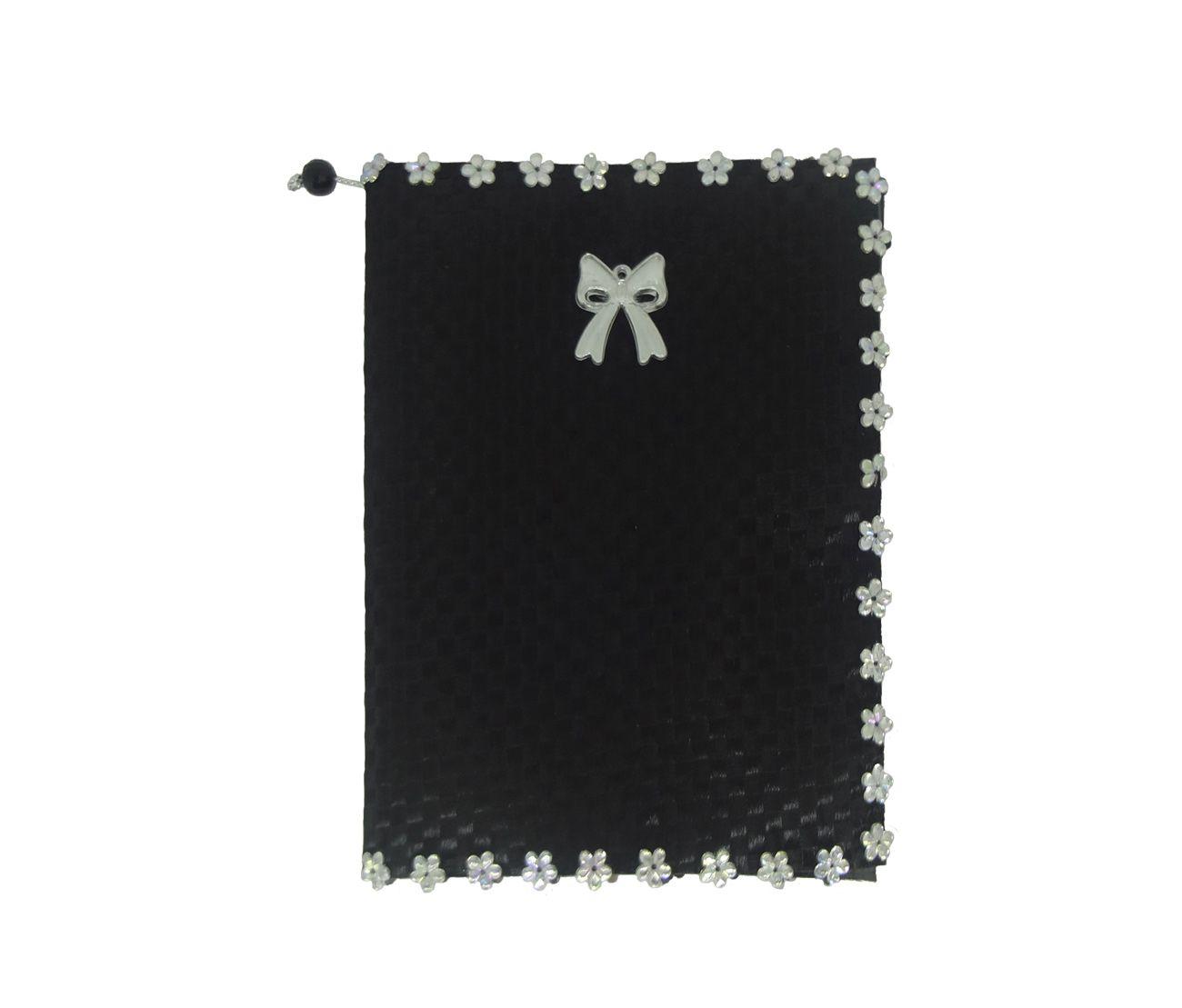 Capa para Bíblia com Hinário Pequeno Xadrez