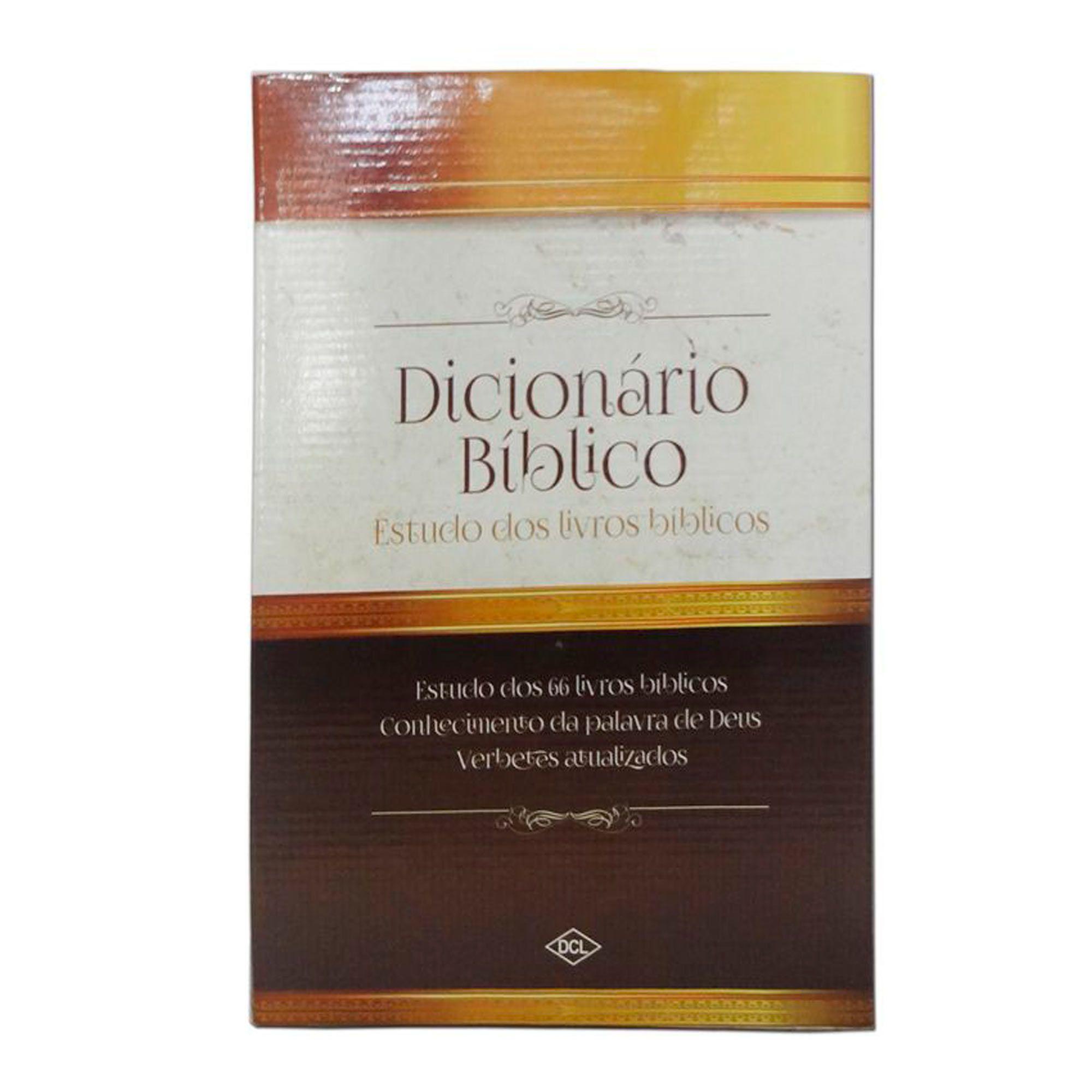 Dicionário Bíblico CCB Estudo Dos Livros