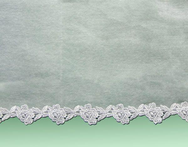 Véu CCB de Algodão 90% Renda de Guipure OR-52660