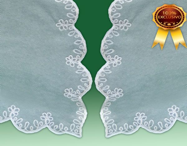 Véu CCB Verona 90% Algodão Bordado - 022058