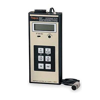 DOSÍMETRO - 50 A 130 dB - CURVA A DETECTOR DE PICO - RS232 - 897 - SIMPSON