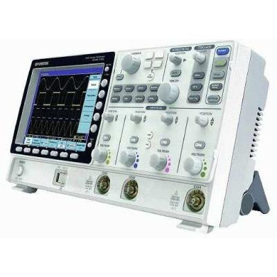 OSCILOSCÓPIO DIGITAL 150 MHz 2 CANAIS - 2,5 GSa/s E TECNOLOGIA VPO DISPLAY LCD 8 HD - GDS-3152 - GW INSTEK