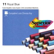 Fundo SUPERIOR | 11 Royal Blue | Chroma Key