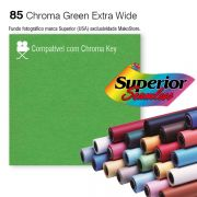 Fundo SUPERIOR EXTRA WIDE | 85 Chroma Key Green