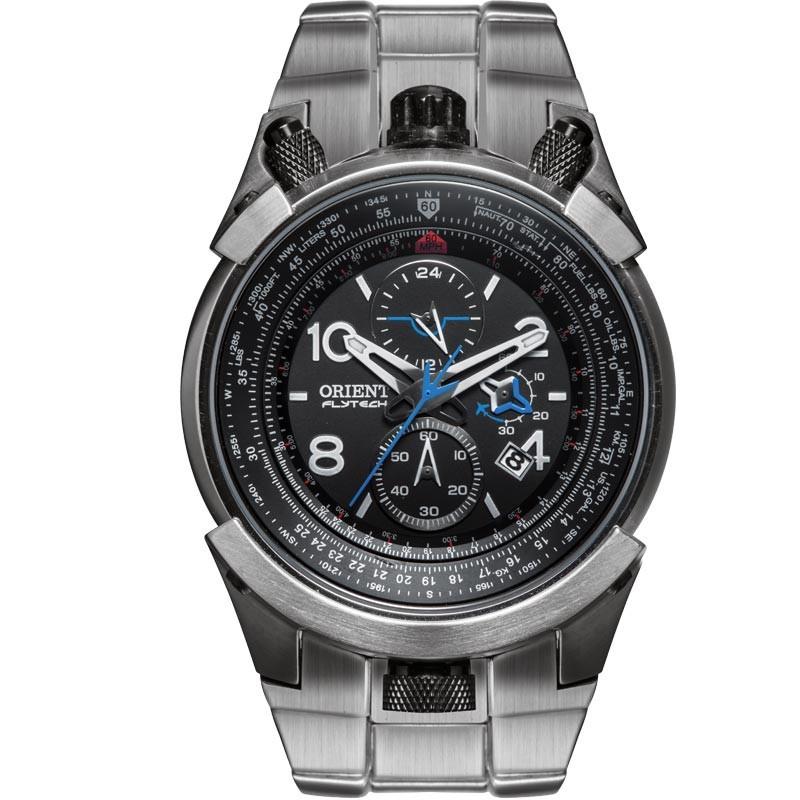 390eb6c6194 Relógio Orient Masculino Ref  Mbttc008 P2gx Flytech Titânio ...