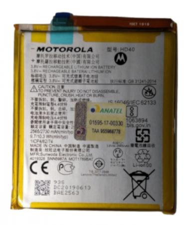 BATERIA HD40 MOTO Z2 FORCE XT1789 ORIGINAL SNN5986A / SJNN0160A / SNN5987A