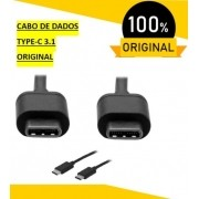 "Cabo de Dados TIPO C - TIPO-C, PRETO, MOTO, TODOS OS MODELOS ""C"" MOTO G7 TYPE-C 3.1"