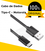 Cabo de Dados, USB X TIPO-C, MOTOROLA ORIGINAL 3A....