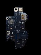 Placa Sub Board Moto G 5G Plus Conector Carga Tipo C Xt2075