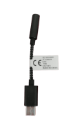 XT1650, ADAPTADOR FONE DE OUVIDO, USB TIPO-C, PRETO, MOTO Z Power, MOTO Z FORCE p2