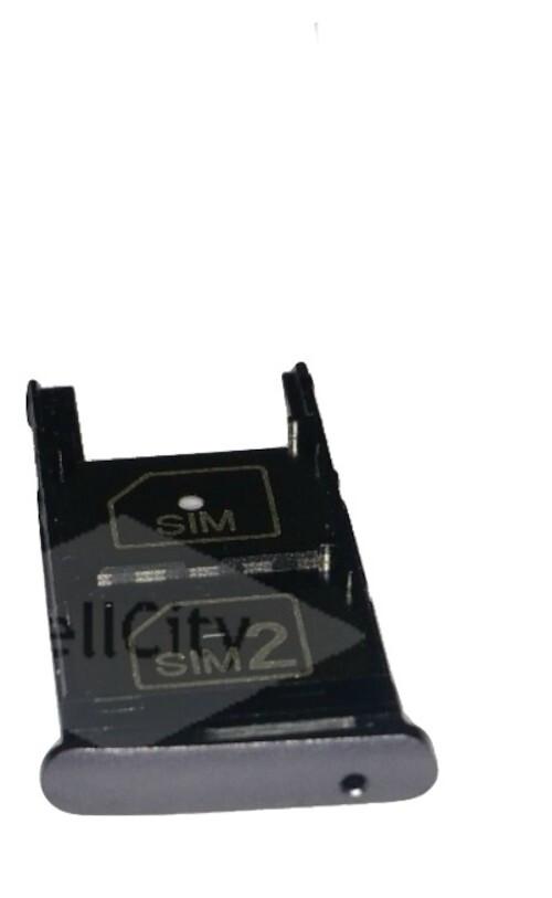 GAVETA DO SIM CARD SUPORTE ORIGINAL BANDEJA MOTO Z2 PLAY XT1710 CINZA
