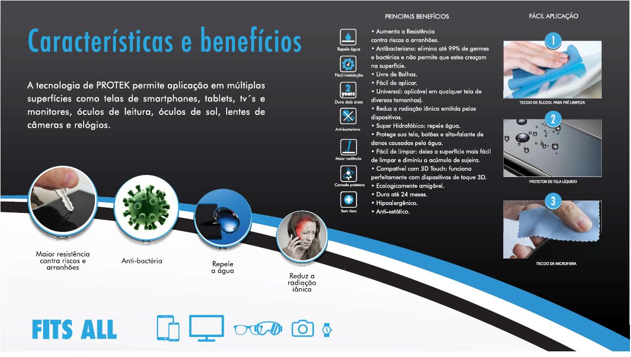 PELICULA P/ Samsung Galaxy S8, PROTEK LÍQUIDA  FRENTE VERSO